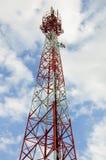 Радиосвязь башни сигнала. Стоковые Фото