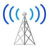 радиотелеграф башни Стоковая Фотография