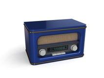 радио иллюстрации 3d ретро Стоковое Изображение
