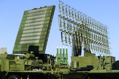 Радиолокаторы и ракетная установка Стоковое Фото