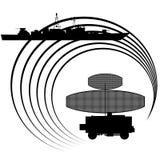 радиолокатор Стоковое Изображение RF