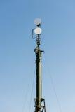 Радиолокационные станции системы обороны площади воинских передвижных анти- систем воздушных судн Стоковое Фото