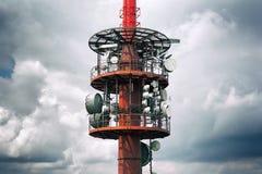 Радио передачи/tele башня Стоковые Фотографии RF