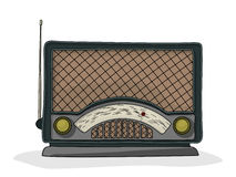Радио шаржа Стоковое фото RF