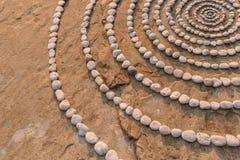 Радиус камешков стоковые изображения rf