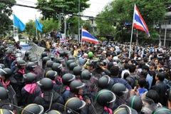 Ралли Билла Анти--амнистии в Бангкоке Стоковая Фотография RF