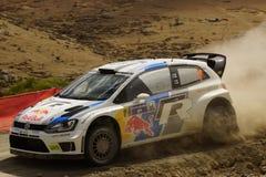 Ралли Гуанахуато Мексика 2013 WRC Стоковые Изображения RF