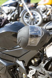 Ралли мотоцикла стоковые фотографии rf