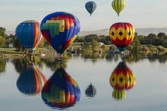 Ралли Baloon воздуха Стоковое Изображение