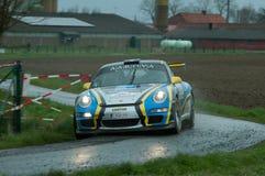 Ралли TAC Бельгия 2015 Стоковое фото RF