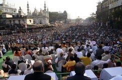 Ралли Uthan Diwas стоковые фото
