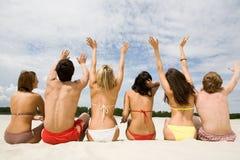 радостные люди Стоковые Фото
