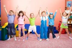 радостные малыши Стоковое Фото
