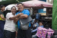 2 радостных бирманских люд. Стоковые Фото