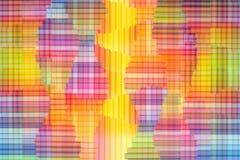 радуга абстрактной предпосылки цветастая Предпосылка перекрещения multi покрашенная Стоковые Изображения RF