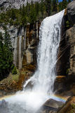 Радуга водопада Стоковое Фото