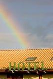радуга гостиницы Стоковые Фотографии RF