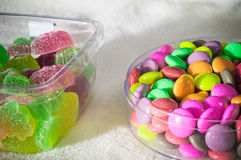 Радуга конфеты студня Стоковое Изображение RF