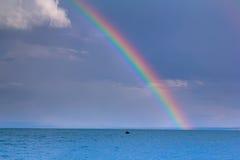Радуга моря Стоковое Изображение