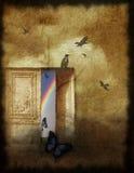 радуга находки ваша Стоковое Изображение