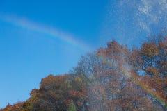 Радуга на воде стоковые изображения rf