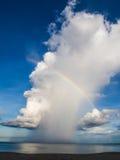 Радуга на море Стоковые Изображения