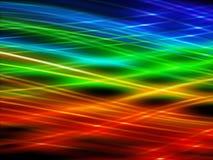 радуга предпосылки Стоковая Фотография RF
