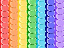 радуга предпосылки Стоковая Фотография