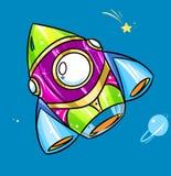 Радуга Ракеты яркая цвета бесплатная иллюстрация
