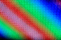 Радуга света СИД нерезкости конспекта искусства красочная Стоковое фото RF