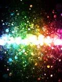 Радуга светов Стоковое Изображение RF