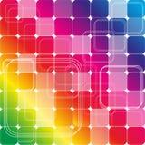 Радуга формирует иллюстрацию цвета Иллюстрация вектора