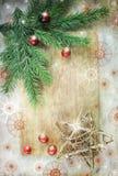 Радужные звезды рождества Стоковая Фотография RF