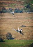 Реактивные истребители тайфуна бойца евро Стоковые Фотографии RF