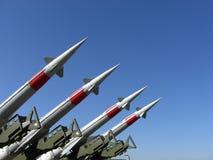 реактивные снаряды Стоковое фото RF
