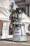 Реактивный двигатель NK-33 ракеты космоса Стоковая Фотография