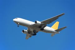 реактивный грузовой самолет 767 Боинг Стоковая Фотография