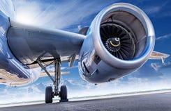 Реактивный двигатель Стоковая Фотография