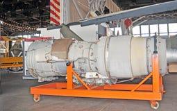 Реактивный двигатель Turbo Стоковое фото RF
