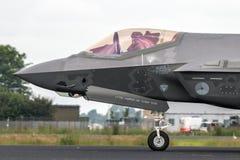 Реактивный истребитель молнии III Lockheed Martin F-35 Стоковое фото RF