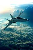 реактивный истребитель Стоковое Изображение RF