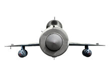 реактивный истребитель mig 21 воздушного судна зазвуковой Стоковые Фото