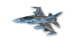 Реактивный истребитель боя, военный самолет Стоковые Изображения RF