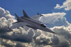 Реактивный истребитель Стоковые Фотографии RF
