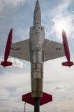 Реактивный истребитель (CF-104 Starfighter) Стоковое Фото