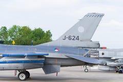 реактивный истребитель 16 f Стоковые Изображения RF