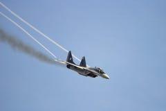Реактивный истребитель MiG 29 Стоковое фото RF