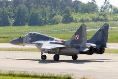 Реактивный истребитель MiG-29 Стоковые Фото