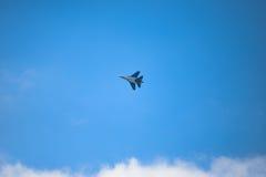 Реактивный истребитель SU-30 Стоковое Фото