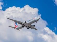 Реактивный самолет америкэн эрлайнз Стоковые Фото